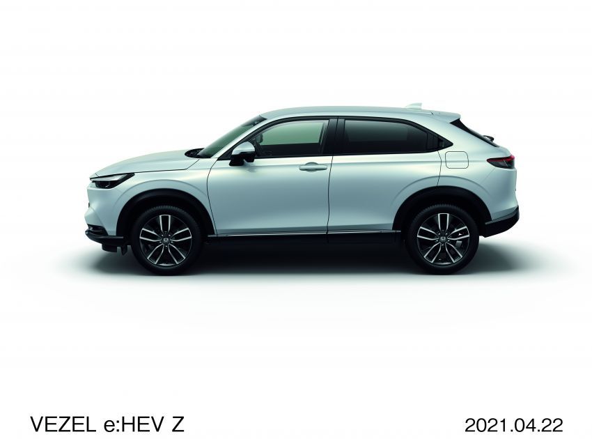 2022 Honda HR-V launched in Japan – 131 PS/253 Nm e:HEV, 118 PS/142 Nm 1.5L NA i-VTEC, from RM87k Image #1286061