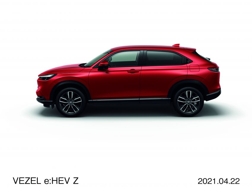 2022 Honda HR-V launched in Japan – 131 PS/253 Nm e:HEV, 118 PS/142 Nm 1.5L NA i-VTEC, from RM87k Image #1286064
