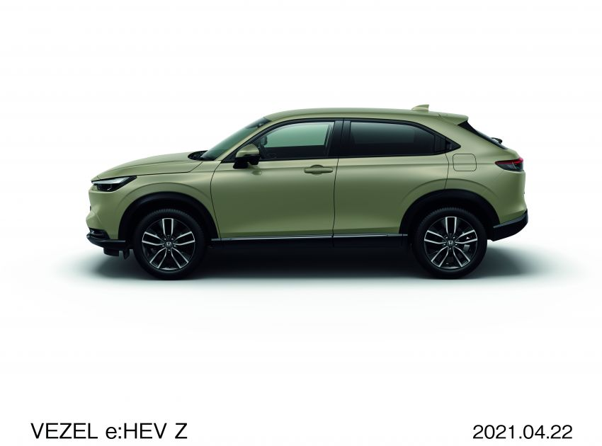 2022 Honda HR-V launched in Japan – 131 PS/253 Nm e:HEV, 118 PS/142 Nm 1.5L NA i-VTEC, from RM87k Image #1286066