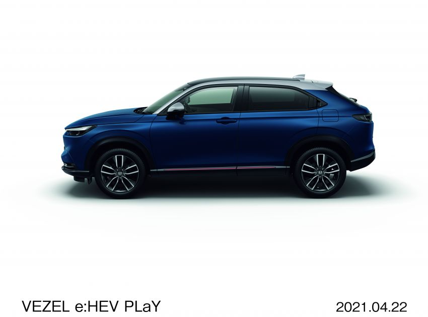2022 Honda HR-V launched in Japan – 131 PS/253 Nm e:HEV, 118 PS/142 Nm 1.5L NA i-VTEC, from RM87k Image #1286070
