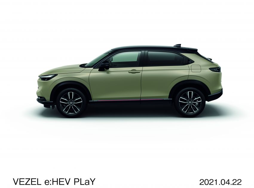 2022 Honda HR-V launched in Japan – 131 PS/253 Nm e:HEV, 118 PS/142 Nm 1.5L NA i-VTEC, from RM87k Image #1286071