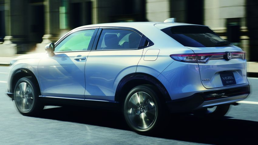 2022 Honda HR-V launched in Japan – 131 PS/253 Nm e:HEV, 118 PS/142 Nm 1.5L NA i-VTEC, from RM87k Image #1286076