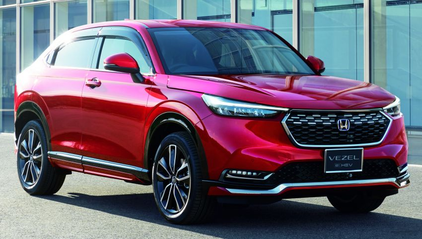 2022 Honda HR-V launched in Japan – 131 PS/253 Nm e:HEV, 118 PS/142 Nm 1.5L NA i-VTEC, from RM87k Image #1286080