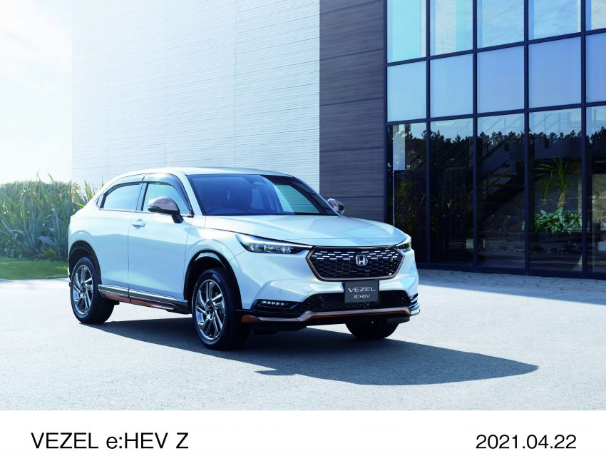 2022 Honda HR-V launched in Japan – 131 PS/253 Nm e:HEV, 118 PS/142 Nm 1.5L NA i-VTEC, from RM87k Image #1286082
