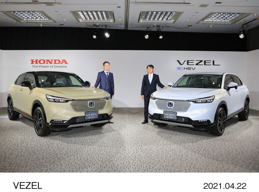 2022 Honda HR-V launched in Japan – 131 PS/253 Nm e:HEV, 118 PS/142 Nm 1.5L NA i-VTEC, from RM87k Image #1286170