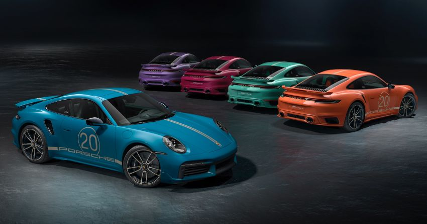 992 Porsche 911 Turbo S China 20th Anniversary Edition debuts – 5 heritage colours; from RM1.97 mil Image #1284544