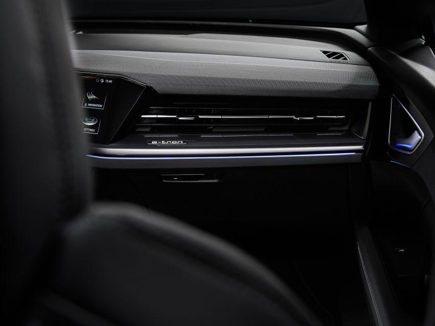 Audi Q4 e-tron, Q4 Sportback e-tron diperkenalkan – tiga varian penjana kuasa, jarak hingga 520 km, 299 PS Image #1281332