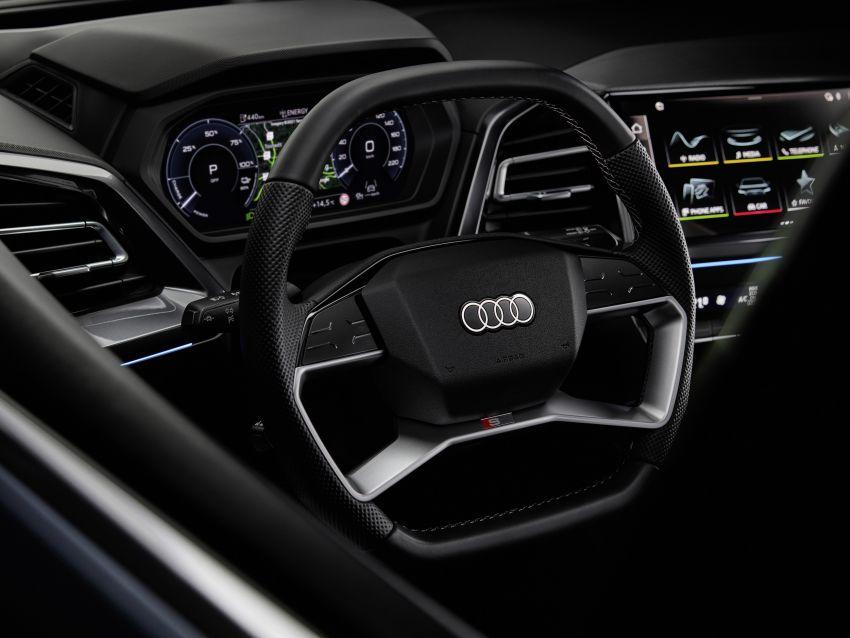 Audi Q4 e-tron, Q4 Sportback e-tron diperkenalkan – tiga varian penjana kuasa, jarak hingga 520 km, 299 PS Image #1281337