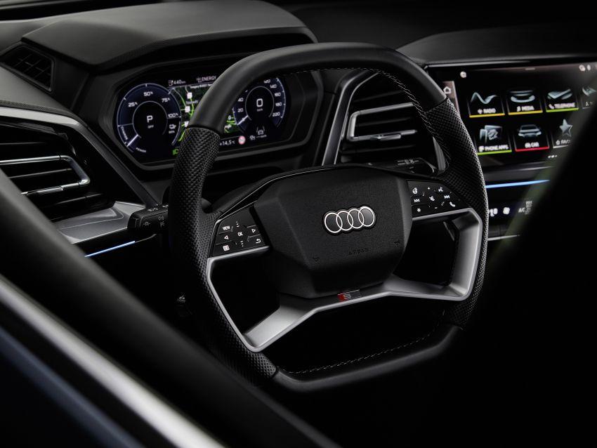 Audi Q4 e-tron, Q4 Sportback e-tron diperkenalkan – tiga varian penjana kuasa, jarak hingga 520 km, 299 PS Image #1281338