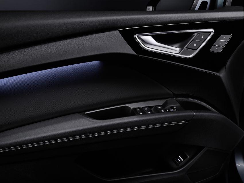 Audi Q4 e-tron, Q4 Sportback e-tron diperkenalkan – tiga varian penjana kuasa, jarak hingga 520 km, 299 PS Image #1281341