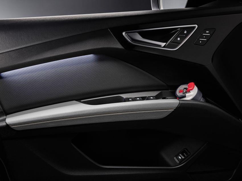 Audi Q4 e-tron, Q4 Sportback e-tron diperkenalkan – tiga varian penjana kuasa, jarak hingga 520 km, 299 PS Image #1281358