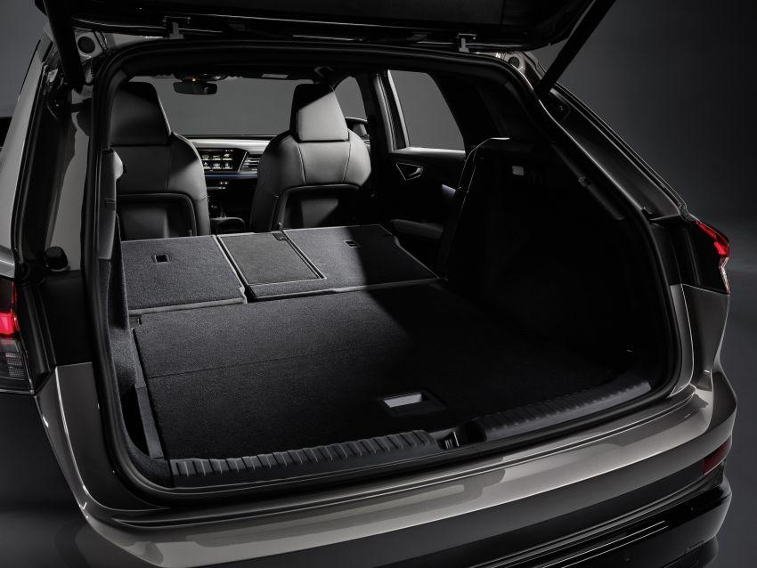 Audi Q4 e-tron, Q4 Sportback e-tron diperkenalkan – tiga varian penjana kuasa, jarak hingga 520 km, 299 PS Image #1281363