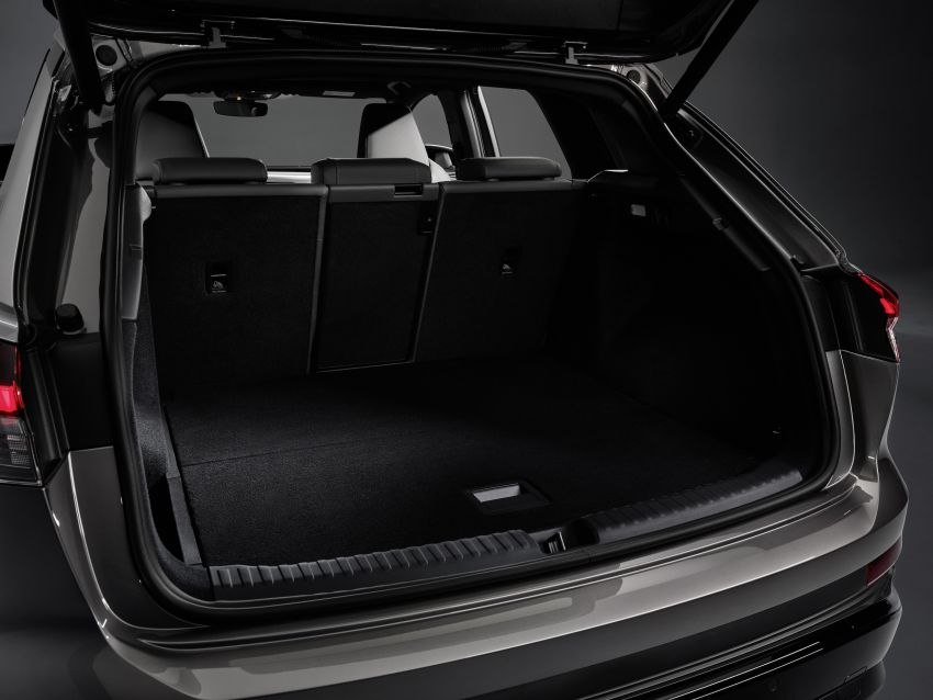 Audi Q4 e-tron, Q4 Sportback e-tron diperkenalkan – tiga varian penjana kuasa, jarak hingga 520 km, 299 PS Image #1281366