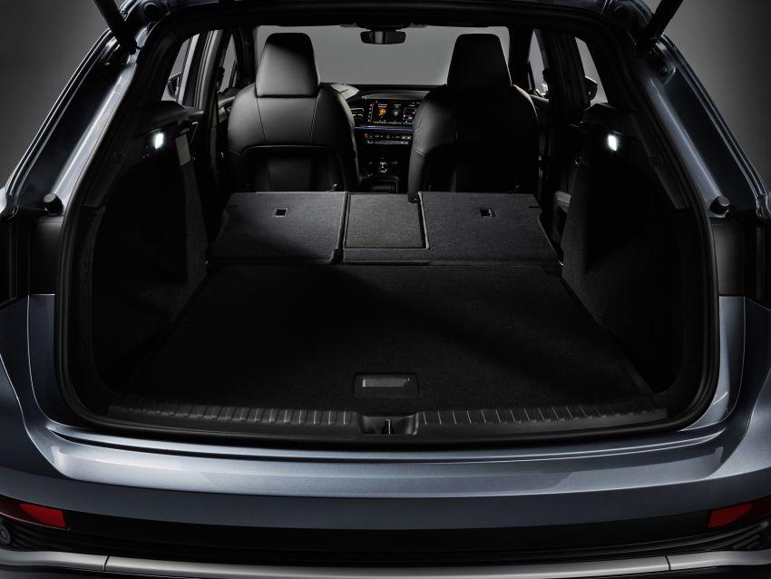 Audi Q4 e-tron, Q4 Sportback e-tron diperkenalkan – tiga varian penjana kuasa, jarak hingga 520 km, 299 PS Image #1281368