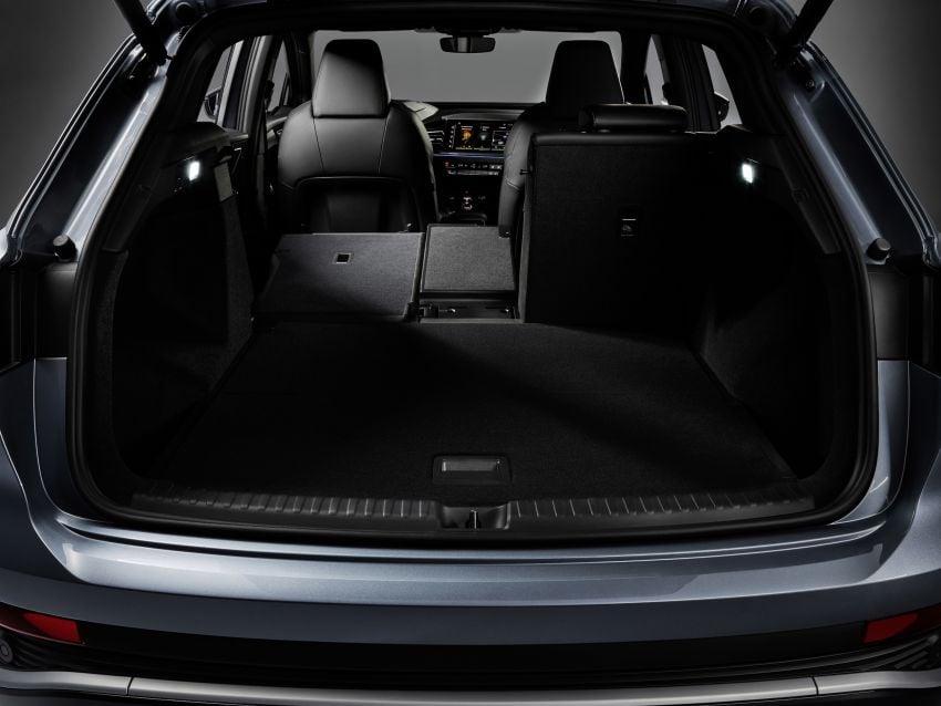 Audi Q4 e-tron, Q4 Sportback e-tron diperkenalkan – tiga varian penjana kuasa, jarak hingga 520 km, 299 PS Image #1281369