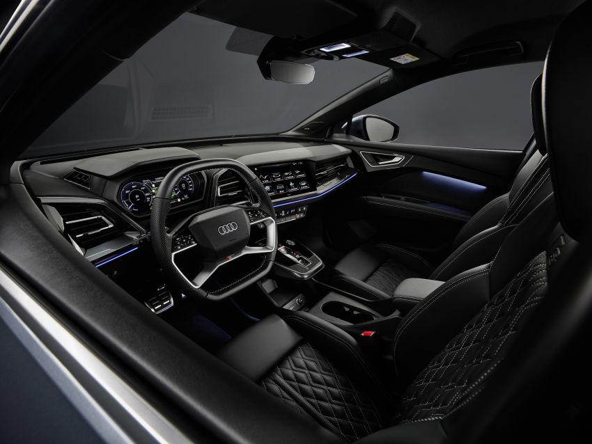 Audi Q4 e-tron, Q4 Sportback e-tron diperkenalkan – tiga varian penjana kuasa, jarak hingga 520 km, 299 PS Image #1281375