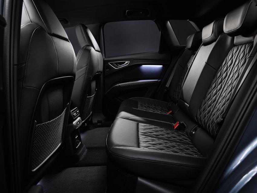 Audi Q4 e-tron, Q4 Sportback e-tron diperkenalkan – tiga varian penjana kuasa, jarak hingga 520 km, 299 PS Image #1281377