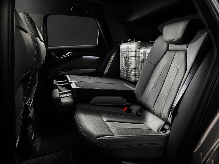 Audi Q4 e-tron, Q4 Sportback e-tron diperkenalkan – tiga varian penjana kuasa, jarak hingga 520 km, 299 PS Image #1281378
