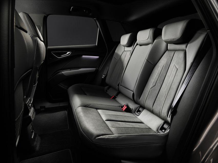 Audi Q4 e-tron, Q4 Sportback e-tron diperkenalkan – tiga varian penjana kuasa, jarak hingga 520 km, 299 PS Image #1281380