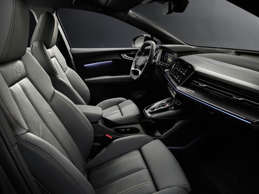 Audi Q4 e-tron, Q4 Sportback e-tron diperkenalkan – tiga varian penjana kuasa, jarak hingga 520 km, 299 PS Image #1281432