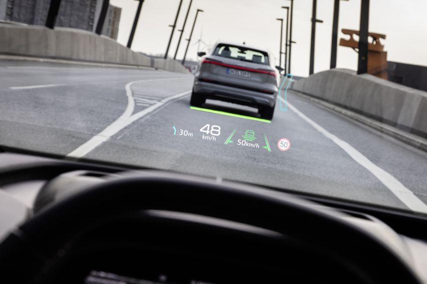 Audi Q4 e-tron, Q4 Sportback e-tron diperkenalkan – tiga varian penjana kuasa, jarak hingga 520 km, 299 PS Image #1281434