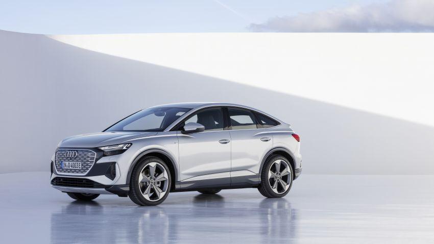 Audi Q4 e-tron, Q4 Sportback e-tron diperkenalkan – tiga varian penjana kuasa, jarak hingga 520 km, 299 PS Image #1281478