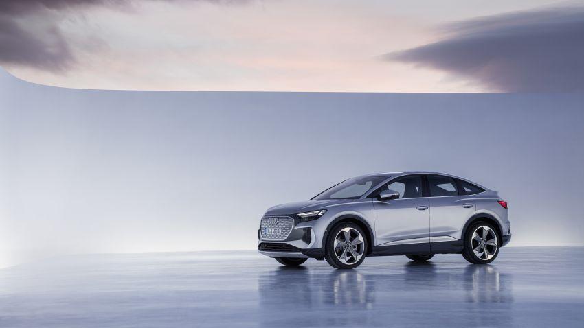 Audi Q4 e-tron, Q4 Sportback e-tron diperkenalkan – tiga varian penjana kuasa, jarak hingga 520 km, 299 PS Image #1281480