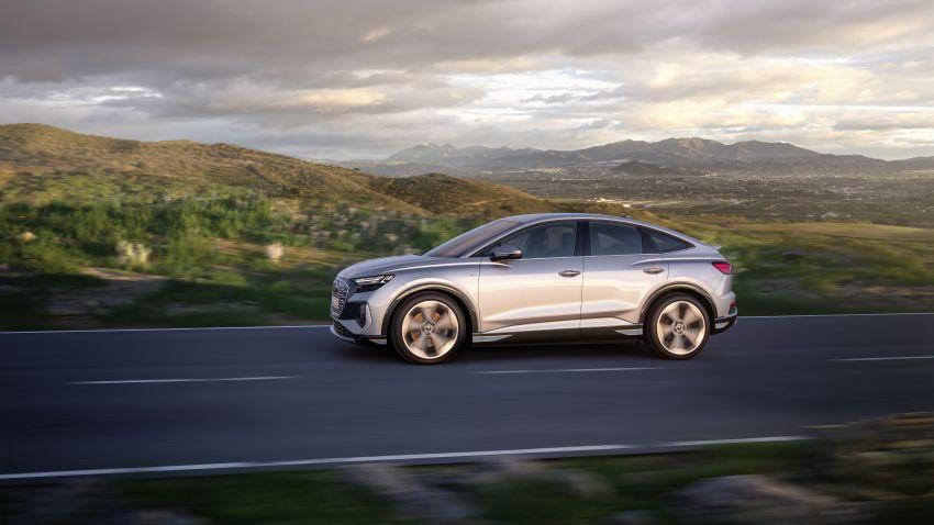 Audi Q4 e-tron, Q4 Sportback e-tron diperkenalkan – tiga varian penjana kuasa, jarak hingga 520 km, 299 PS Image #1281502