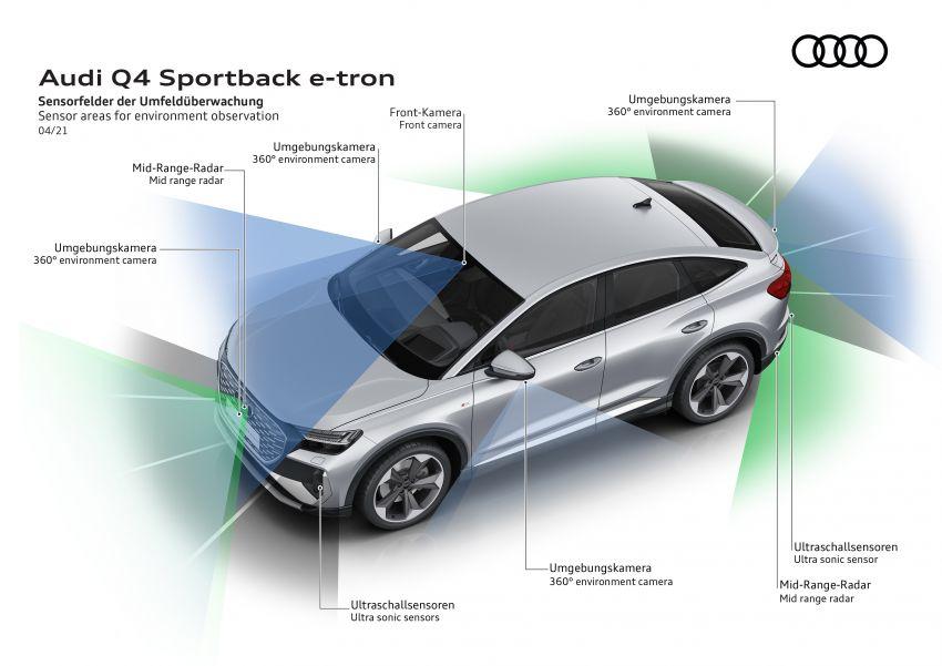 Audi Q4 e-tron, Q4 Sportback e-tron diperkenalkan – tiga varian penjana kuasa, jarak hingga 520 km, 299 PS Image #1281522
