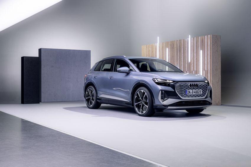 Audi Q4 e-tron, Q4 Sportback e-tron diperkenalkan – tiga varian penjana kuasa, jarak hingga 520 km, 299 PS Image #1281568