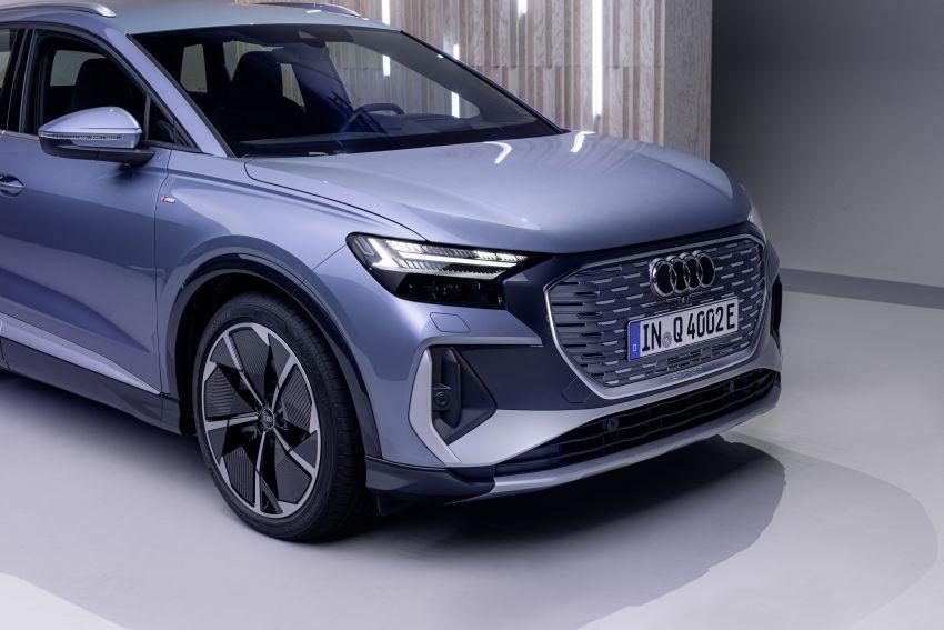 Audi Q4 e-tron, Q4 Sportback e-tron diperkenalkan – tiga varian penjana kuasa, jarak hingga 520 km, 299 PS Image #1281914