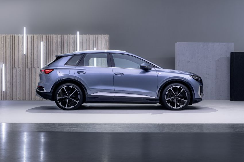Audi Q4 e-tron, Q4 Sportback e-tron diperkenalkan – tiga varian penjana kuasa, jarak hingga 520 km, 299 PS Image #1281642