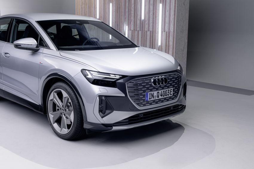 Audi Q4 e-tron, Q4 Sportback e-tron diperkenalkan – tiga varian penjana kuasa, jarak hingga 520 km, 299 PS Image #1281647