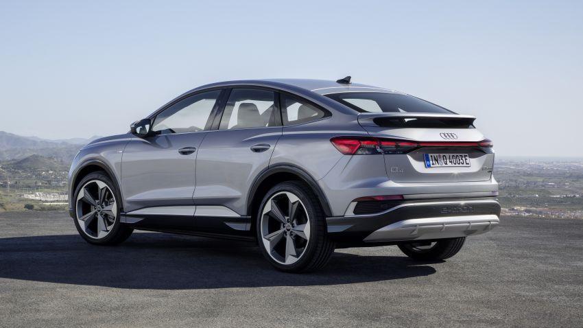 Audi Q4 e-tron, Q4 Sportback e-tron diperkenalkan – tiga varian penjana kuasa, jarak hingga 520 km, 299 PS Image #1281657