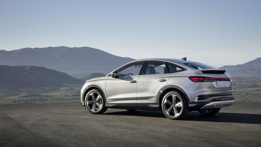 Audi Q4 e-tron, Q4 Sportback e-tron diperkenalkan – tiga varian penjana kuasa, jarak hingga 520 km, 299 PS Image #1281823