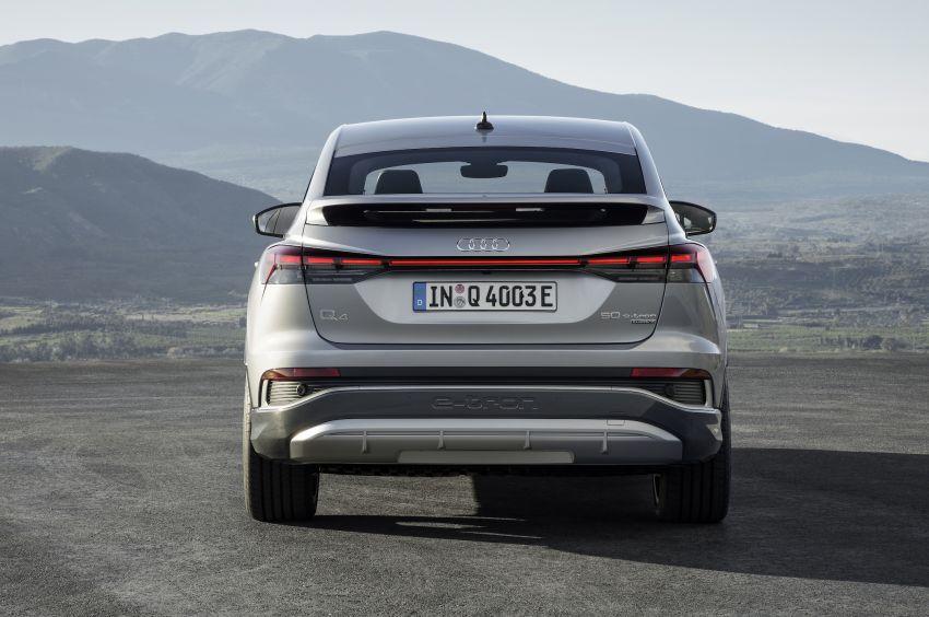 Audi Q4 e-tron, Q4 Sportback e-tron diperkenalkan – tiga varian penjana kuasa, jarak hingga 520 km, 299 PS Image #1281846
