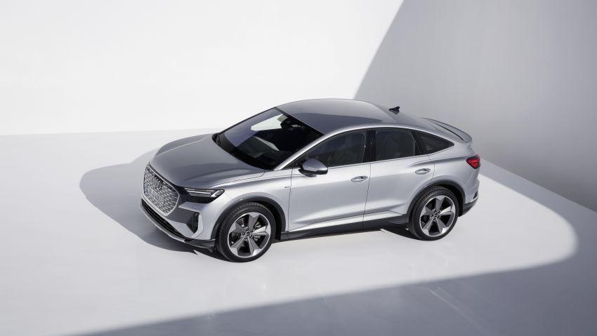 Audi Q4 e-tron, Q4 Sportback e-tron diperkenalkan – tiga varian penjana kuasa, jarak hingga 520 km, 299 PS Image #1281853
