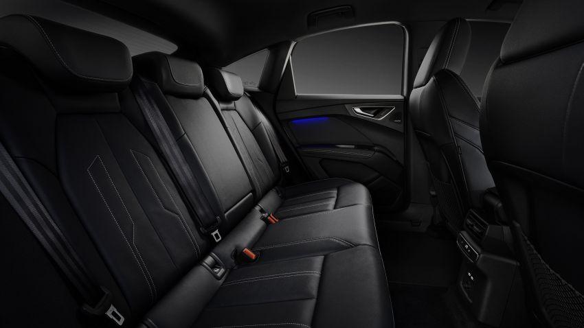 Audi Q4 e-tron, Q4 Sportback e-tron diperkenalkan – tiga varian penjana kuasa, jarak hingga 520 km, 299 PS Image #1281896