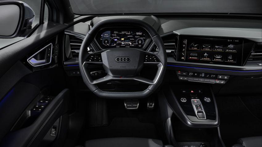 Audi Q4 e-tron, Q4 Sportback e-tron diperkenalkan – tiga varian penjana kuasa, jarak hingga 520 km, 299 PS Image #1281904