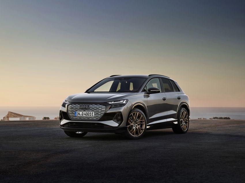 Audi Q4 e-tron, Q4 Sportback e-tron diperkenalkan – tiga varian penjana kuasa, jarak hingga 520 km, 299 PS Image #1281143