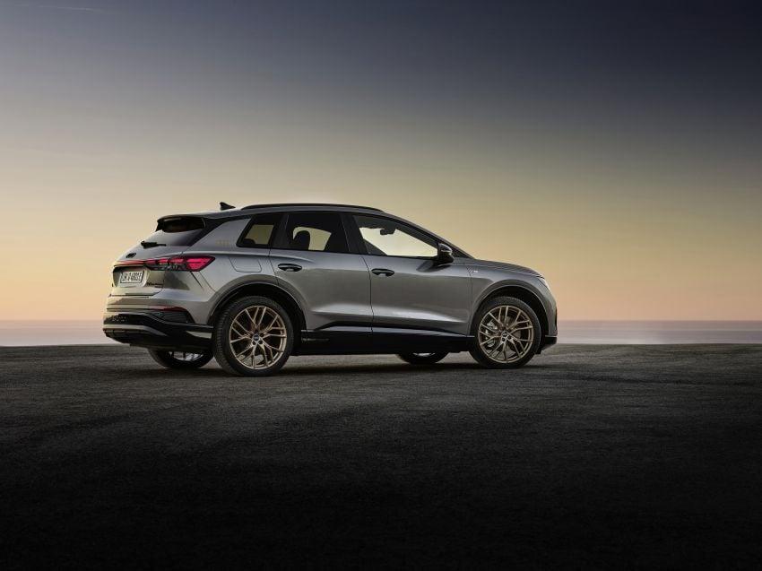 Audi Q4 e-tron, Q4 Sportback e-tron diperkenalkan – tiga varian penjana kuasa, jarak hingga 520 km, 299 PS Image #1281156