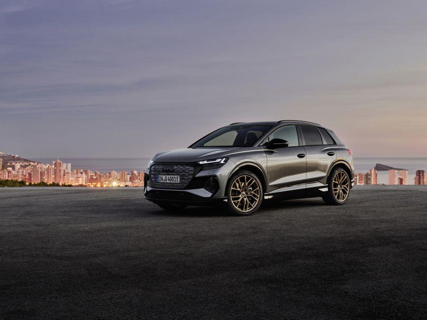 Audi Q4 e-tron, Q4 Sportback e-tron diperkenalkan – tiga varian penjana kuasa, jarak hingga 520 km, 299 PS Image #1281171