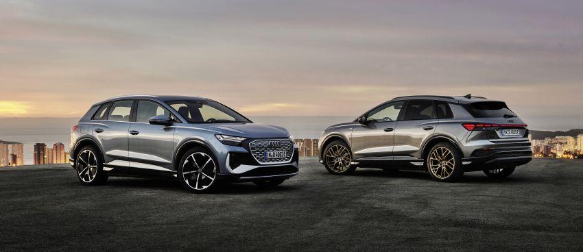 Audi Q4 e-tron, Q4 Sportback e-tron diperkenalkan – tiga varian penjana kuasa, jarak hingga 520 km, 299 PS Image #1281249