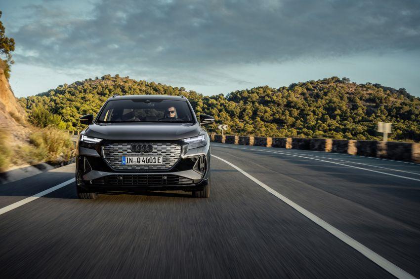 Audi Q4 e-tron, Q4 Sportback e-tron diperkenalkan – tiga varian penjana kuasa, jarak hingga 520 km, 299 PS Image #1281271