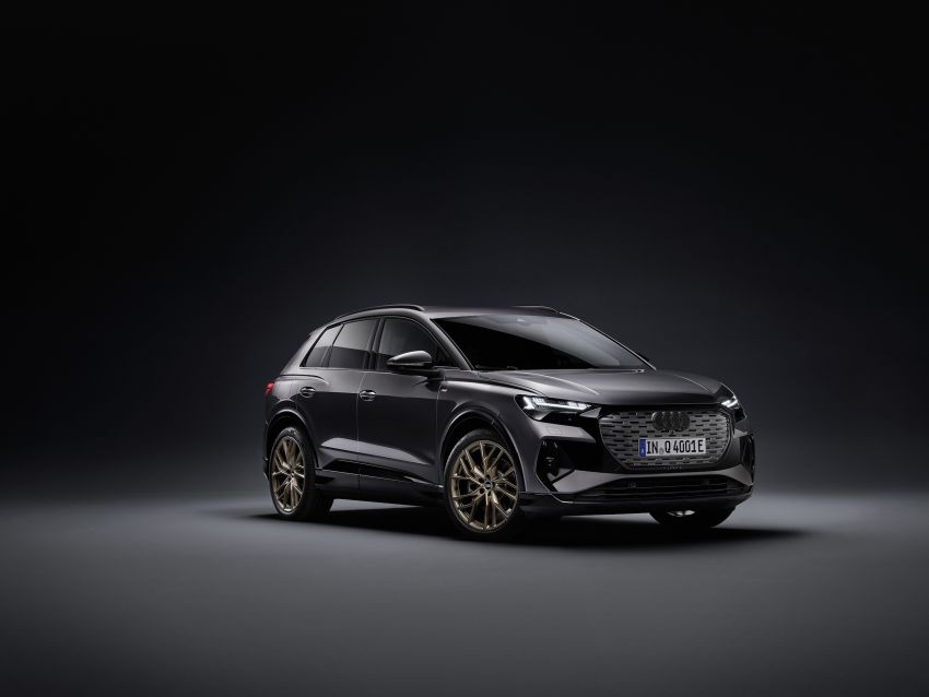 Audi Q4 e-tron, Q4 Sportback e-tron diperkenalkan – tiga varian penjana kuasa, jarak hingga 520 km, 299 PS Image #1281272