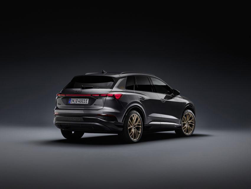 Audi Q4 e-tron, Q4 Sportback e-tron diperkenalkan – tiga varian penjana kuasa, jarak hingga 520 km, 299 PS Image #1281286