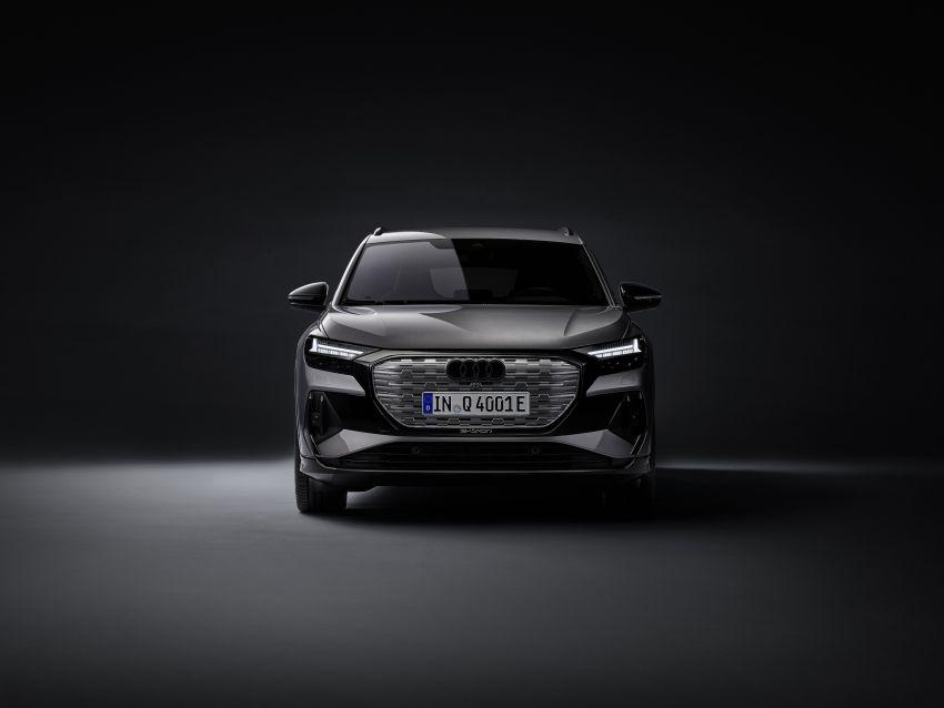Audi Q4 e-tron, Q4 Sportback e-tron diperkenalkan – tiga varian penjana kuasa, jarak hingga 520 km, 299 PS Image #1281289