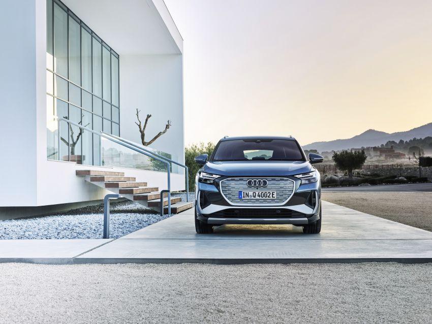 Audi Q4 e-tron, Q4 Sportback e-tron diperkenalkan – tiga varian penjana kuasa, jarak hingga 520 km, 299 PS Image #1281294