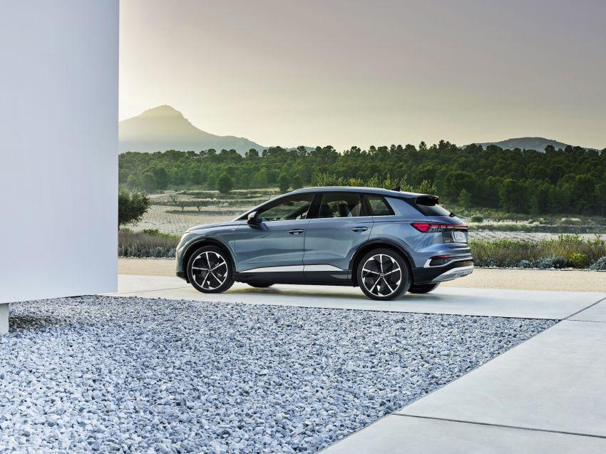 Audi Q4 e-tron, Q4 Sportback e-tron diperkenalkan – tiga varian penjana kuasa, jarak hingga 520 km, 299 PS Image #1281299