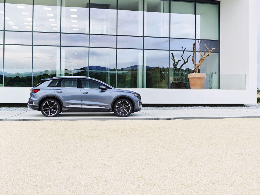 Audi Q4 e-tron, Q4 Sportback e-tron diperkenalkan – tiga varian penjana kuasa, jarak hingga 520 km, 299 PS Image #1281301